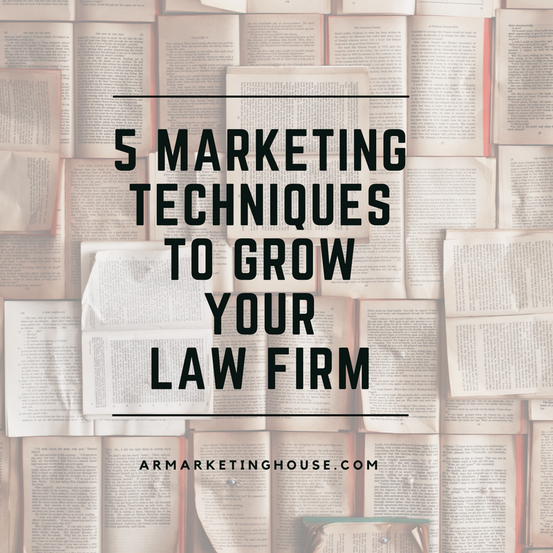 Need To Know Branding Reidel Law Firm: 5 Marketing Techniques To Grow Your Law Firm